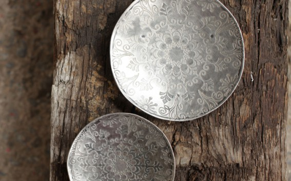 etched iron dishes