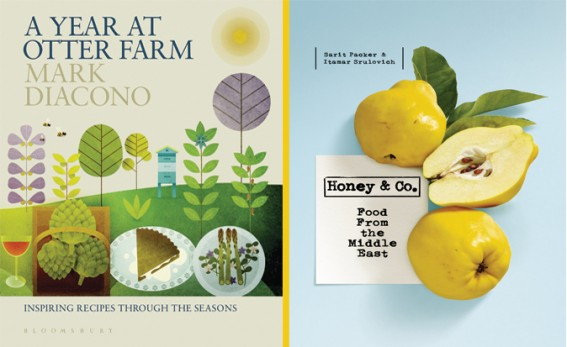 Covers of Otter Farm and Honey and Co