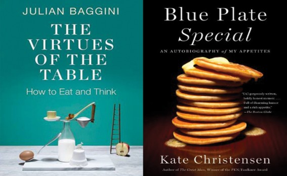 Virtues of the table and Blue Plate special book covers